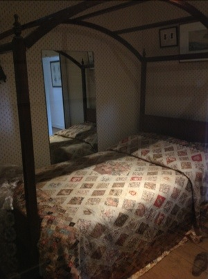 Jane Austen's bed