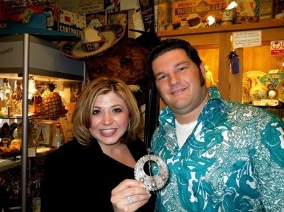 Antiques Diva Toma Haines and George Johnson