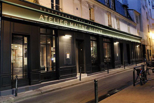 Atelier Maitre Albert  Paris Restaurant