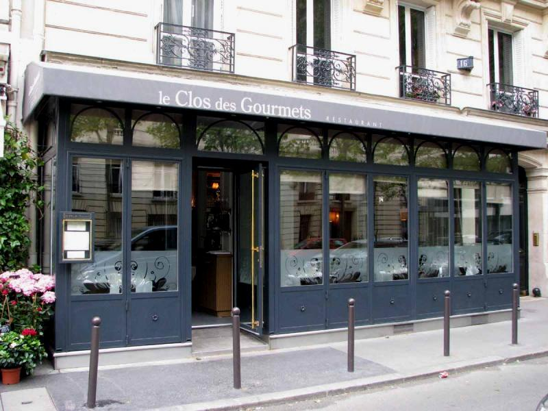 Clos des Gourmets Paris Restaurant