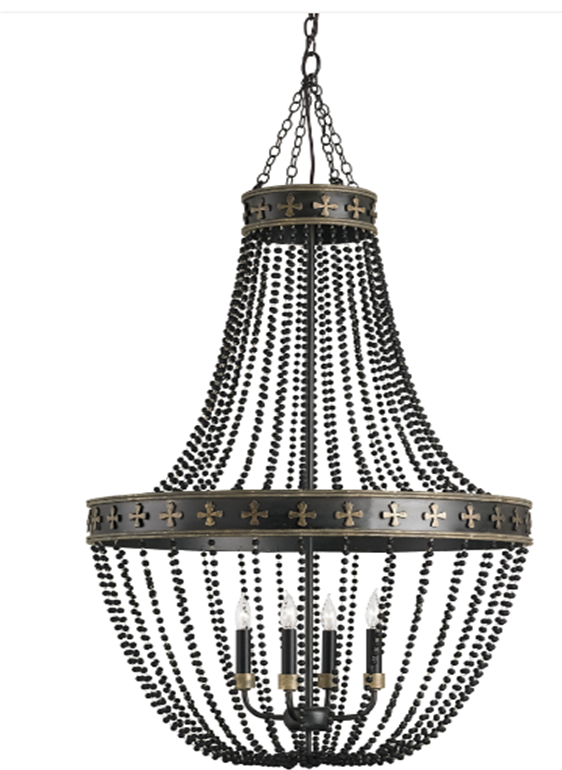chandelier beaded in paris