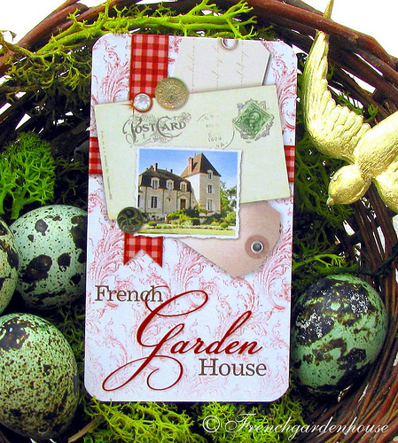 french garden house