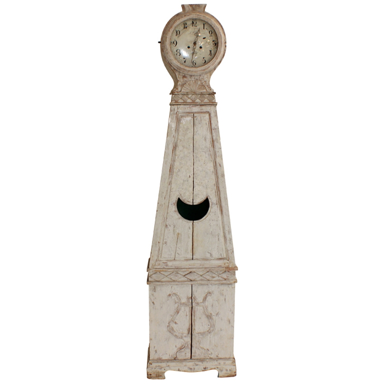 Antiques Diva, Daniel Larsson Interrior, Gustavian, Sourcing Antiques in Europe, Swedish Antiques, Swedish Décor, Antique Swedish Long Case Clock