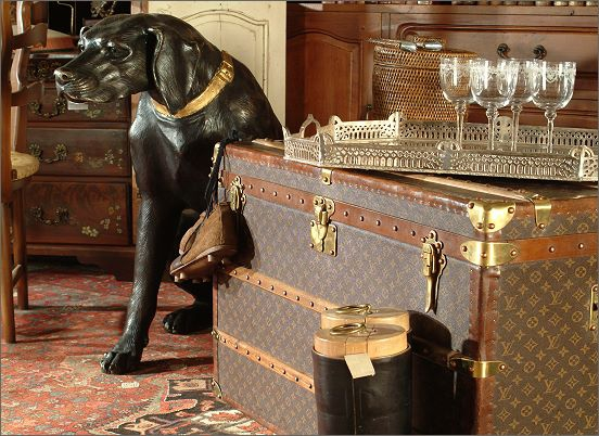 ACP Home Interiors, Louis Vuitton Trunks, Delray Beach Florida, Bernard Molyneux, Lifestyle shop,