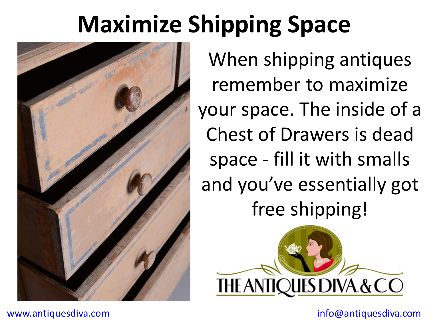 Consolidated shipments, Groupage, Shipping antiques from Europe, Antiques Diva Buying Services, How do I ship antiques from Europe