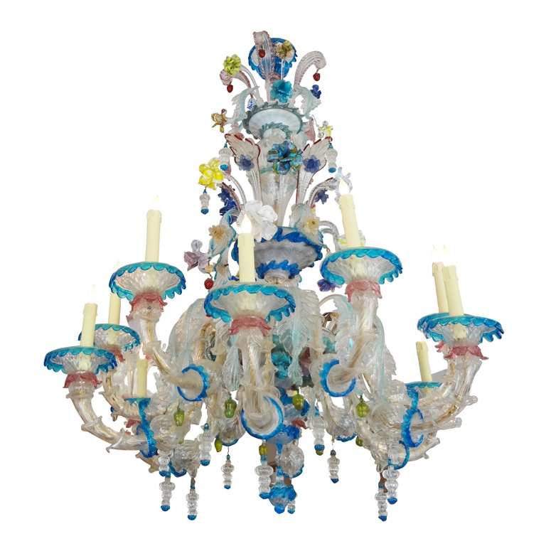 clear chandelier glass traditional modern venetian lights chandeliers contemporary murano