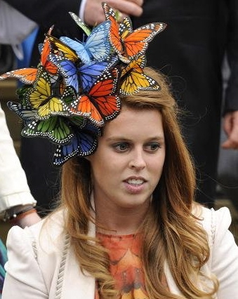 PrincessBeatrice, English Traditions, Fascinator, Princess Beatrice of York, Extravagant hats, headdress, London Fashion Week