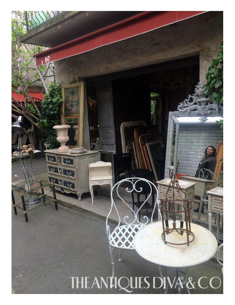Top flea markets in France, Villeneuve Les Avignon, Porte de Vanves in Paris, Allées Jules Guesde, Paris Flea Market, Buying antiques in France, The Antiques Diva, Shopping for antiques in Provence
