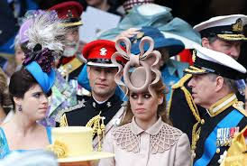 English Traditions, Fascinator, Princess Beatrice of York, Extravagant hats, headdress, London Fashion Week