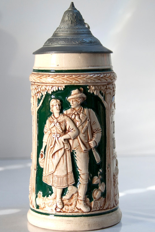 Munich, Oktoberfest, Dirndle, German Beer, Beer Steins, Earthenware, Stoneware