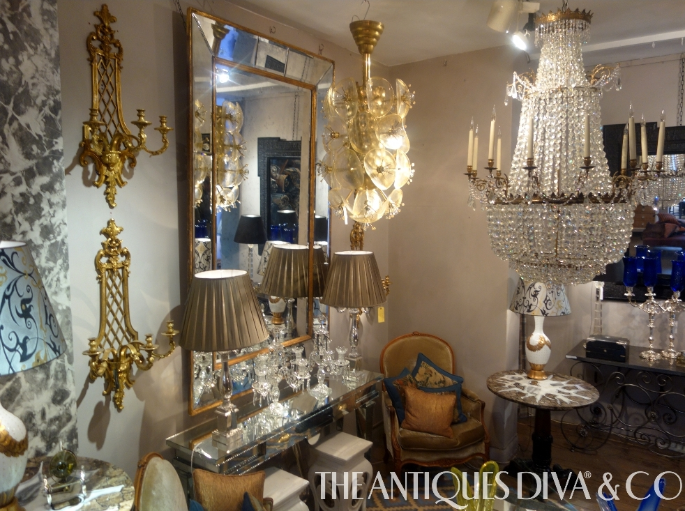 Antiques Diva, Shopping for antiques in London, English Antiques, Guinevere, Marc Weaver, Genevieve Weaver, Kings Road, Chelsea,