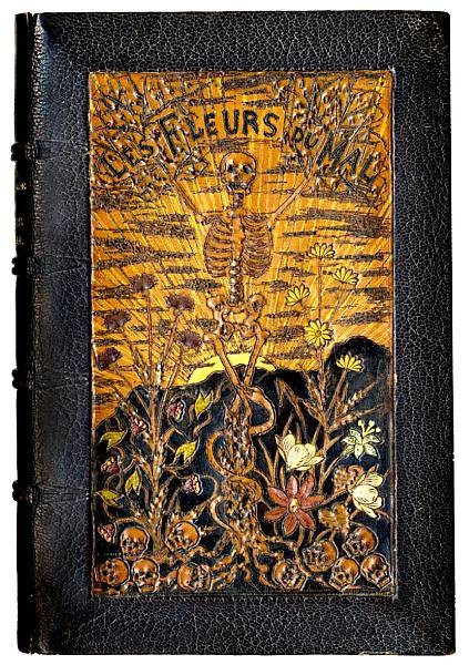 les-fleurs-du-mal-baudelaire-charles-first-edition-first-issue-paris-poulet-malassis-et-de-broise-1858, Decorating for the holidays with Antiques, Holiday antiques, Decorating for Halloween, Decorating for Thanksgiving,