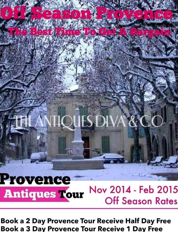 Antiques Diva Provence Off Season Sale, Antiquing in Provence, Sourcing Antiques in Southern France, Buying Tours in Provence, Inspiration Tours in Provence, The Antiques Diva