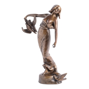The HighBoy, Olga Granda-Scott, Holiday Gift Guide, Art Nouveau bronze