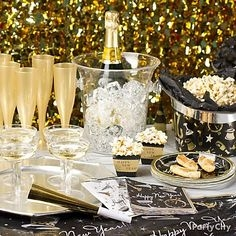 New Year's Eve Party Preparation, Decorating with Style, Holiday Themes, Barefoot Contessa