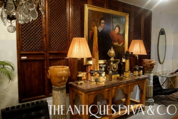 Decorating with Antiques, Decorating Tips, Eclectic Decorating, Designing with Style, Antiques Diva,