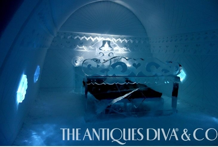 The Antiques Diva Ice Hotel Sweden, ICEHOTEL, Arctic Circle hotels, The Antiques Diva, Ice Hotel in Sweden, Reindeer, Swedish Christmas, Dog Sledding, Designing with Ice,