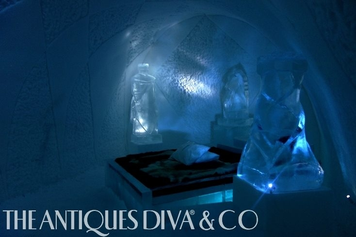 The Antiques Diva Sweden Ice Hotel, ICEHOTEL, Arctic Circle hotels, The Antiques Diva, Ice Hotel in Sweden, Reindeer, Swedish Christmas, Dog Sledding, Designing with Ice,
