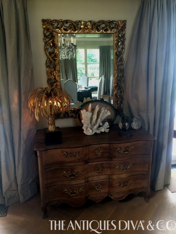 Decorating Tips, Decorating with Antique Mirrors, Trumeau, Best place to hang a mirror, Decorating with style