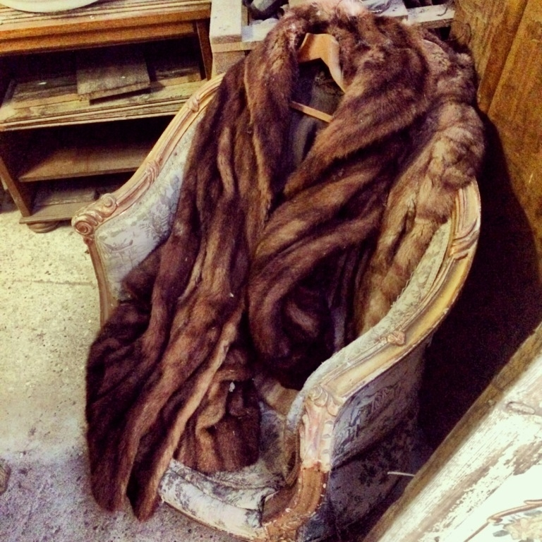 Vintage fur coats, Decorating tips, Decorating with Textiles, Antique Textiles, Antique Rugs, Decorating with Tapestries