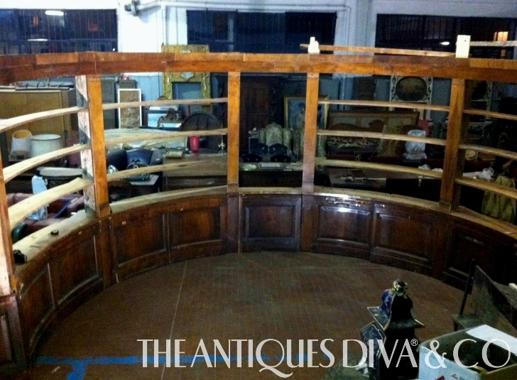 Architectural salvage, Decorating Tips, antique walnut bookcase, boisserie, Antique Buying Services, Sourcing antiques in Europe, The Antiques Diva