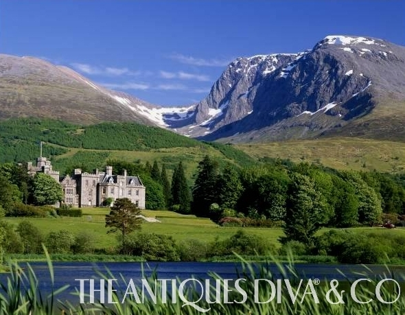 Inverlochy Castle, Castles of Scotland, English Tea, Afternoon Tea, The Antiques Diva