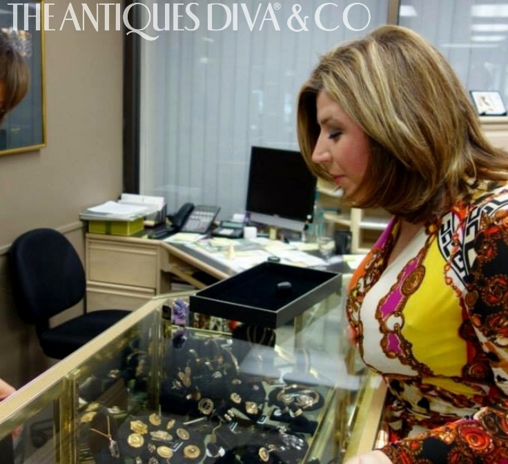 Toma Clark Haines, Buying antique jewelry, European auction houses, Antiques Diva, Shopping in Europe, Vintage jewelry