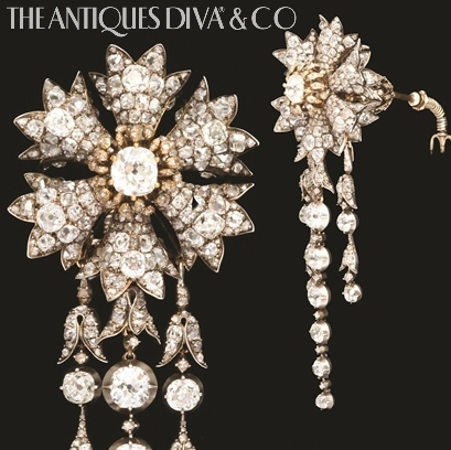 Buying antique jewelry, European auction houses, Antiques Diva, Shopping in Europe, Vintage jewelry