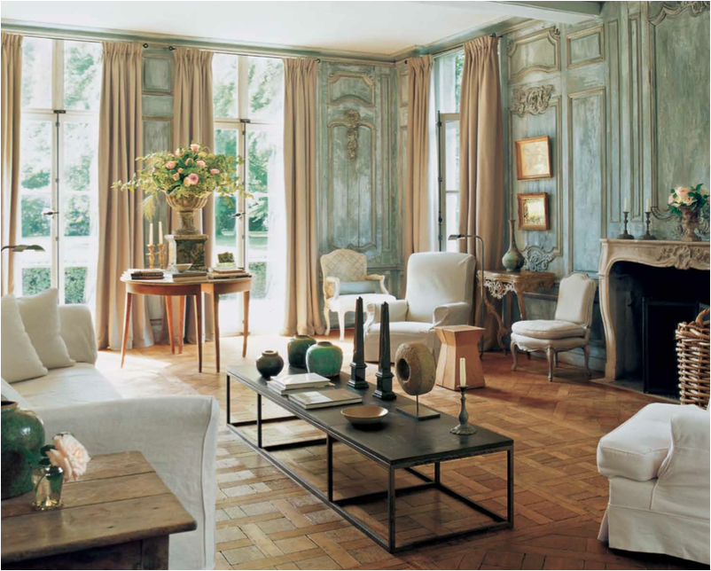 Axel vervoordt archives the antiques divathe antiques diva for Magazine living room ideas