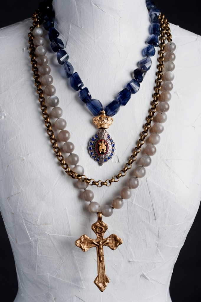 Aura jewelry line from nancy price the antiques divathe for Repurposed vintage jewelry designers