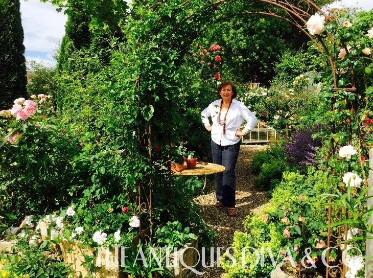 Garden Tips, Antiques Young Guns, Antiques News & Fairs, Gail McCleod, Wiltshire, Antiques Diva, English Gardens,