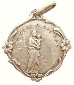 Sourcing Paris Flea Markets for Jewelry Pieces-Religious medal