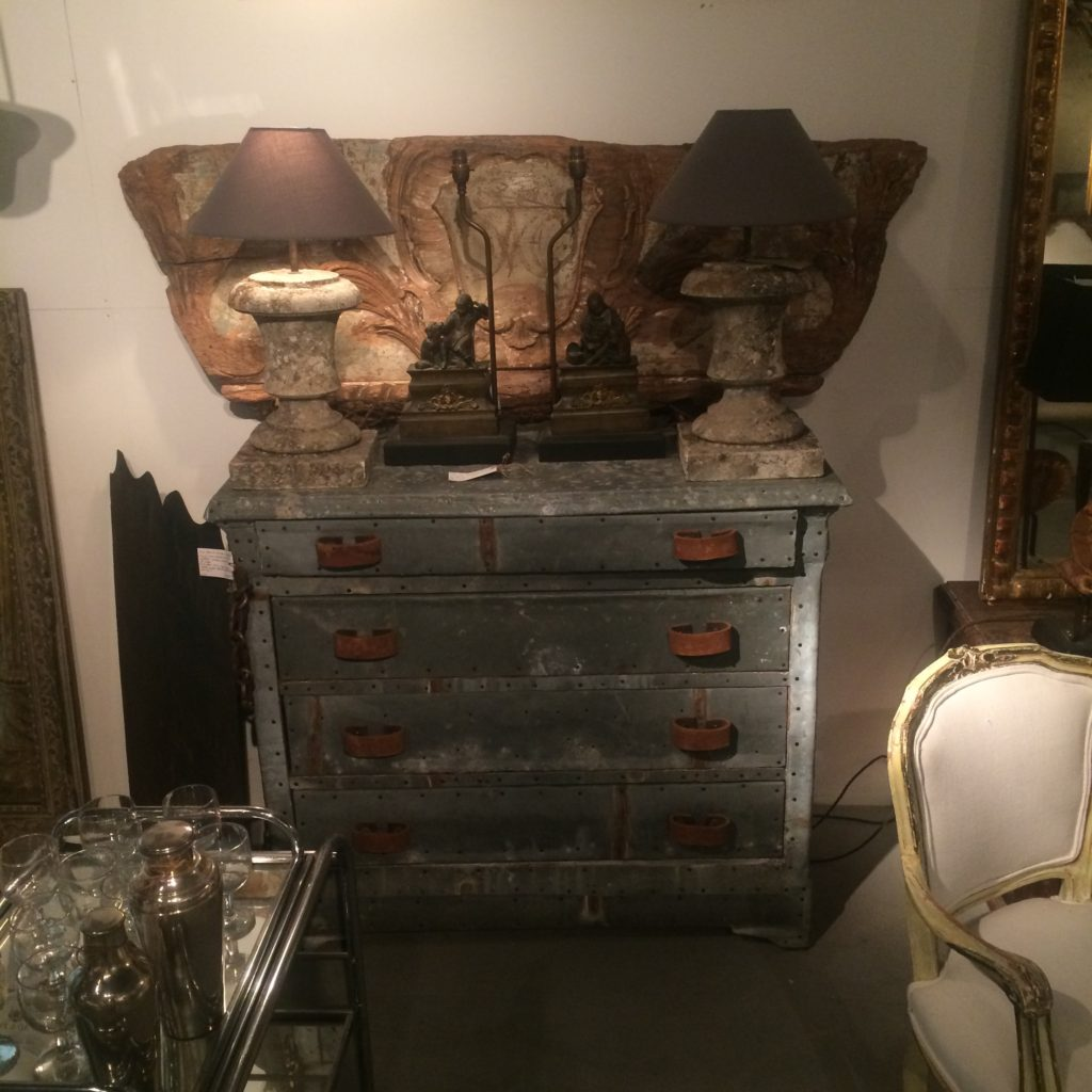 Sourcing Vintage & Antique Lighting in England-Architectural Fragment Lamps