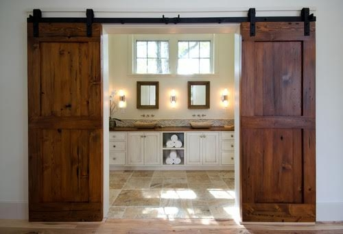 Architectural Salvage- Barn Door Trend- Double Door
