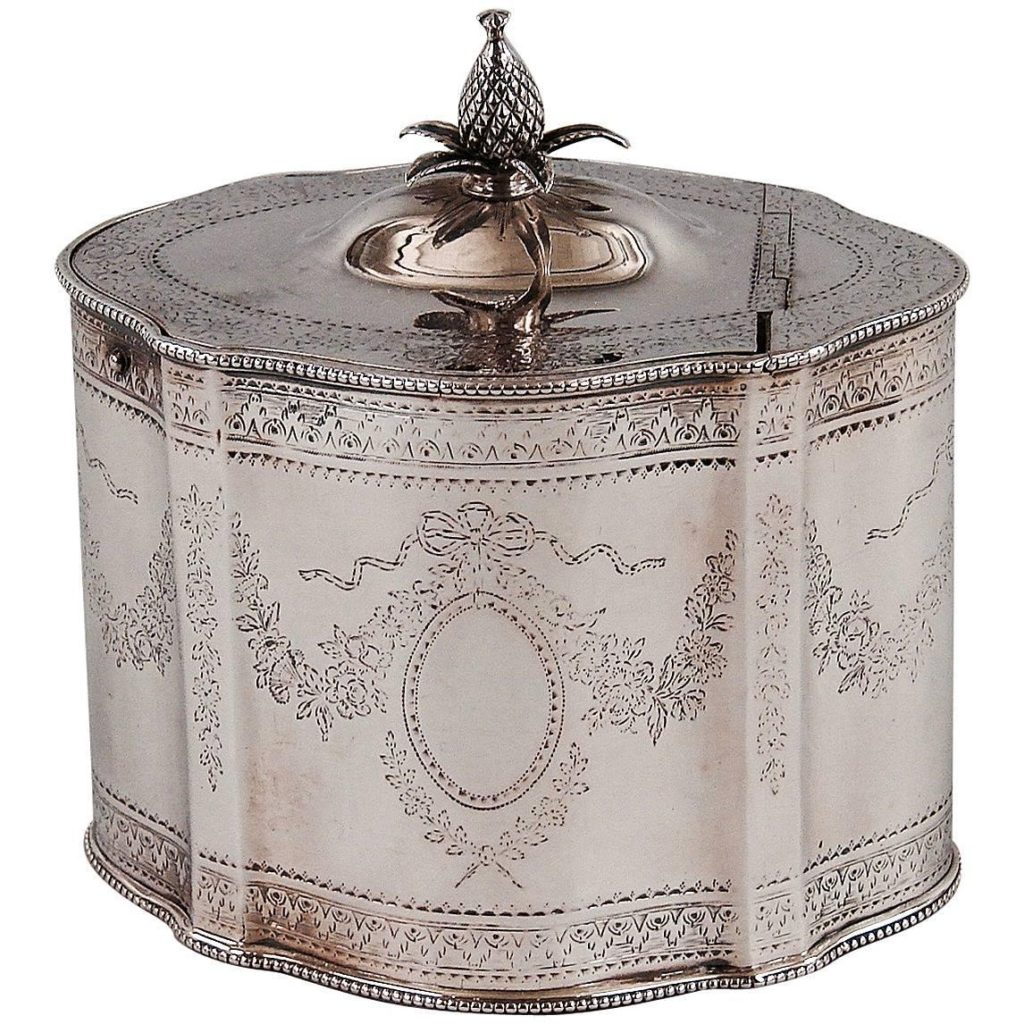 English Tea Caddies-Silver