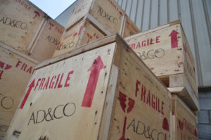 AD&CO crates for shipping and storage: How to ship antiques from Europe, International shippers for Antiques Diva Tours