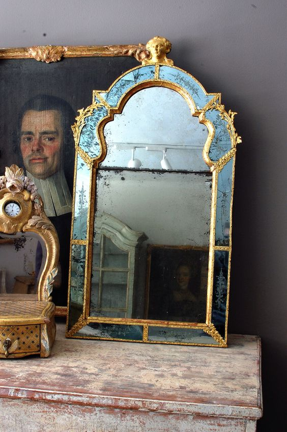 antique Swedish Roccoco finds