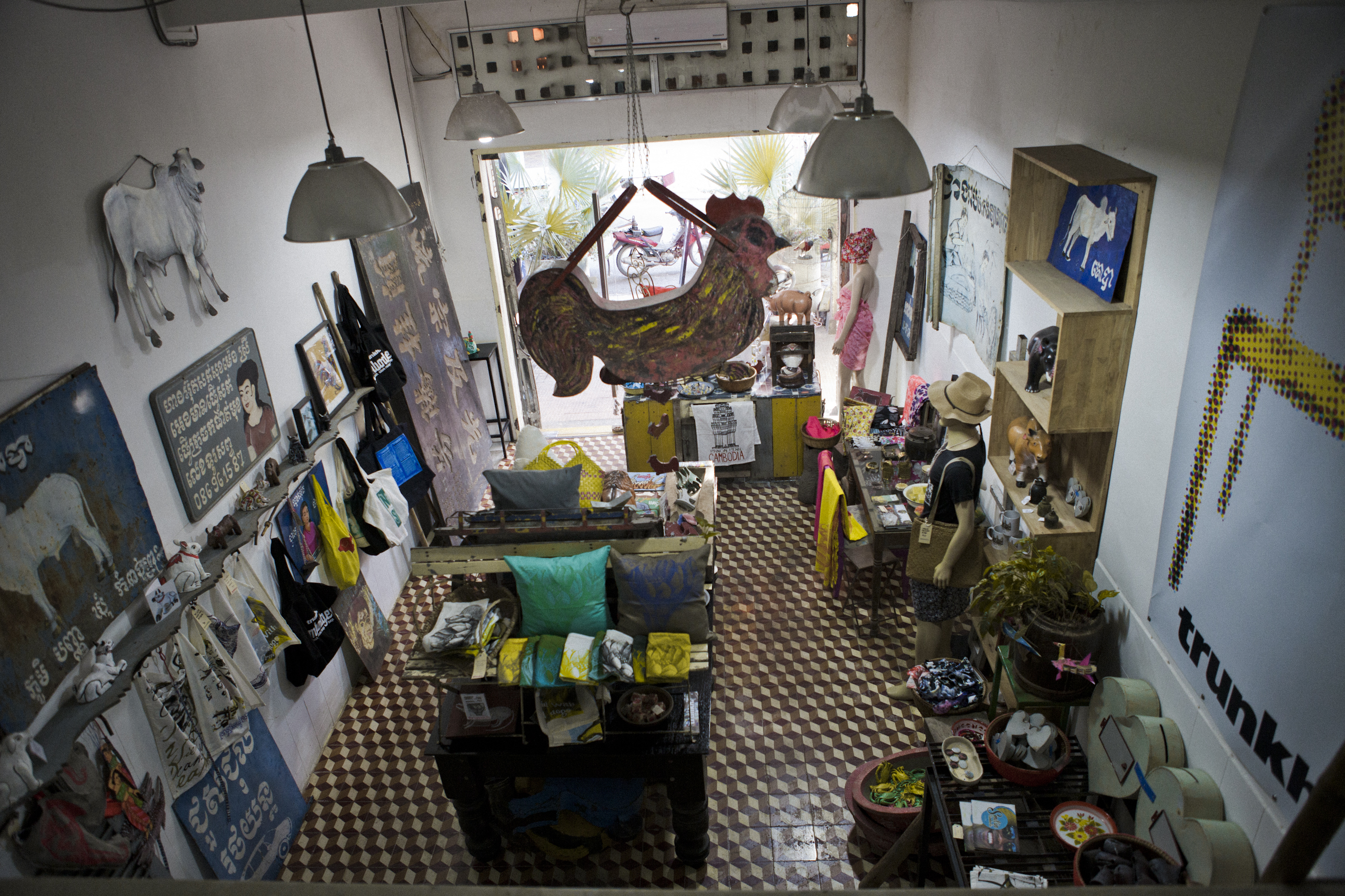 trunkh vintage collectibles concept store Phnom Penh Cambodia Asia Antiques Buying Tours with The Antiques Diva