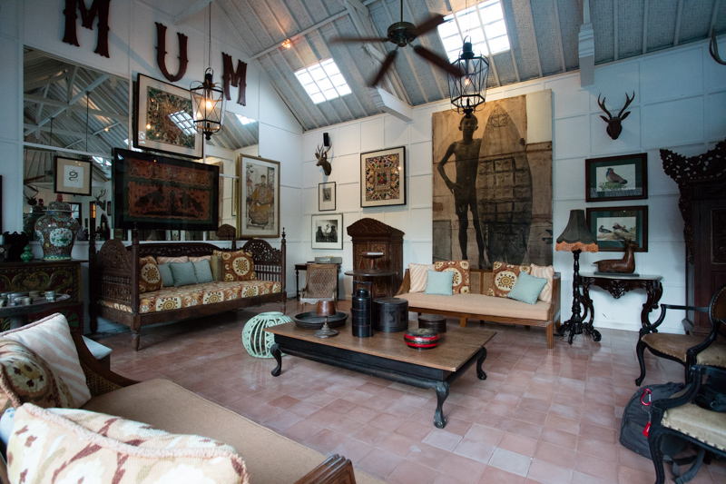 Visiting an antique dealers private home in Bali: Indonesia Antique Buying Tours with The Antiques Diva & Co