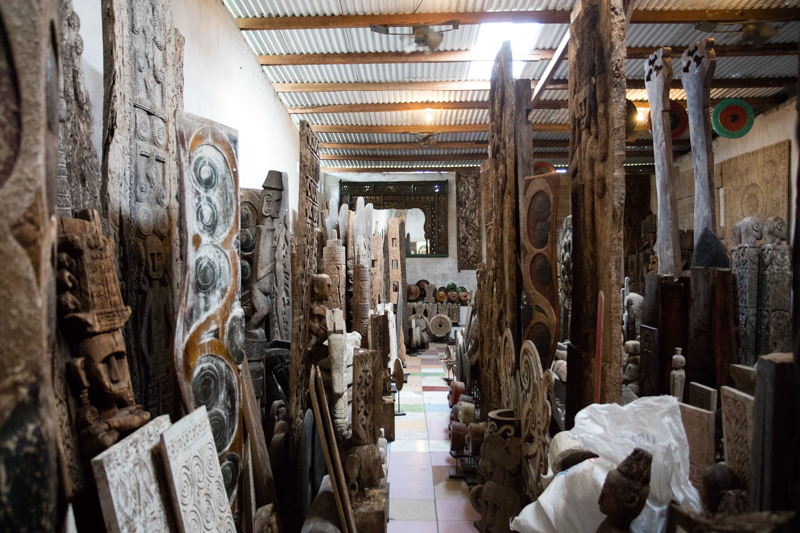 Antique Indonesian Carvings and Statues: Indonesia Antique Buying Tours with The Antiques Diva & Co
