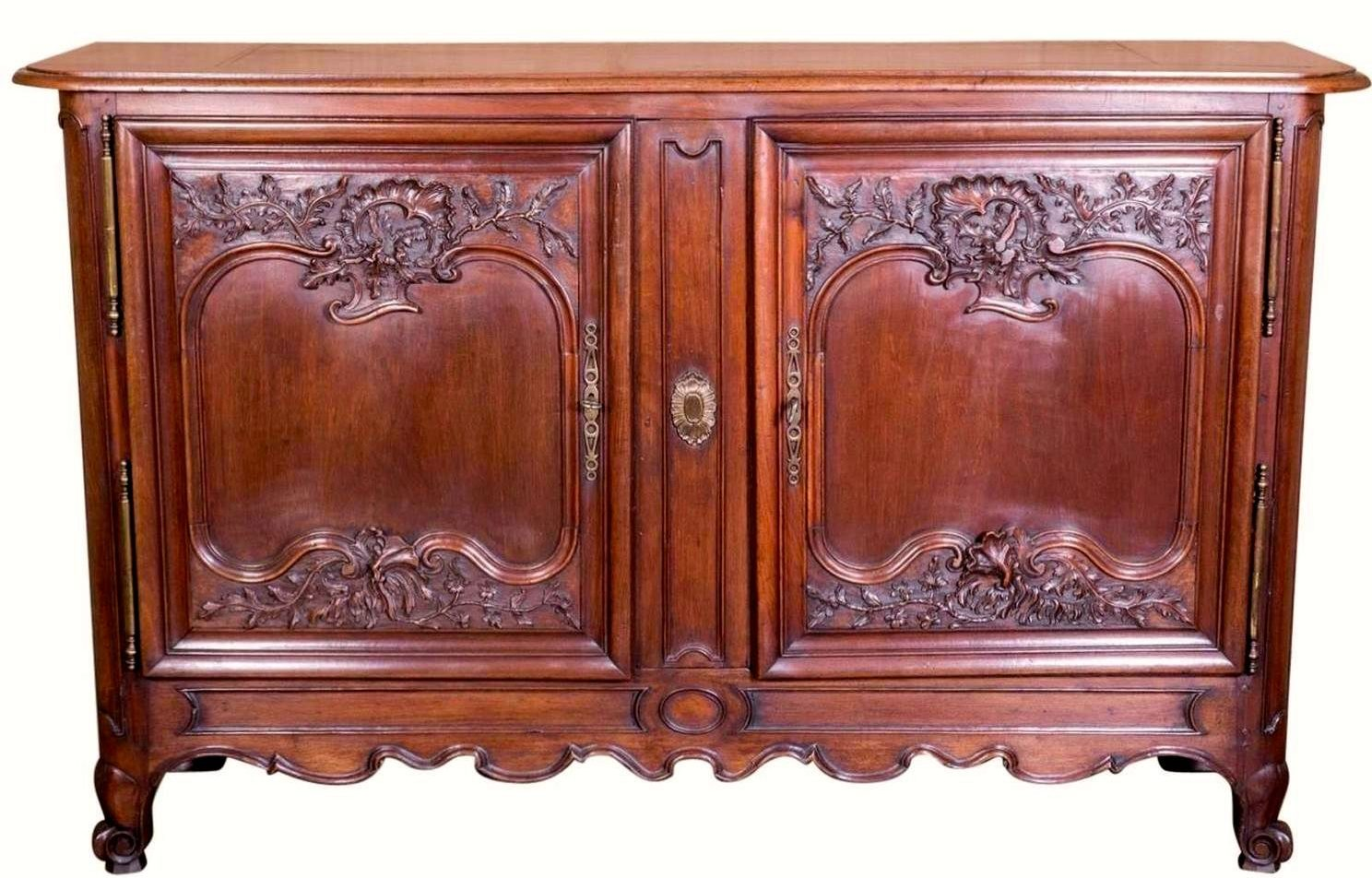 Lolo French Antiques Louis XV Style Buffet