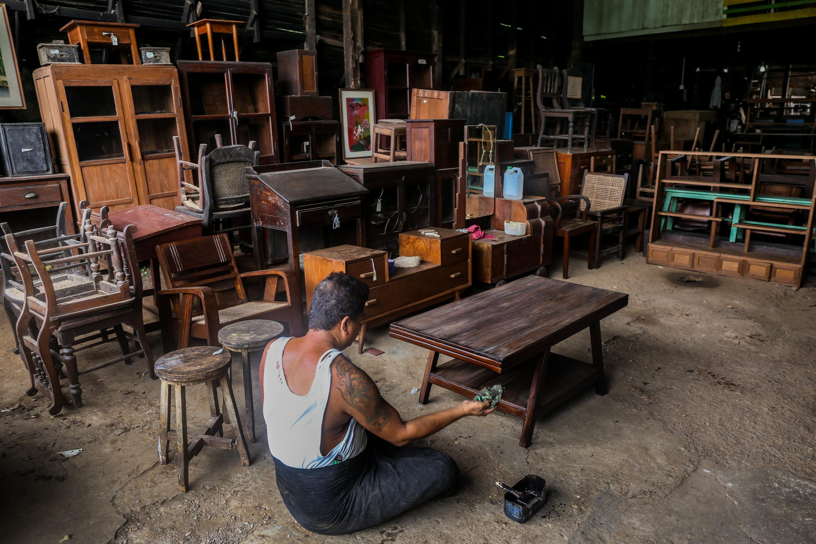 Myanmar the antiques diva for Furniture yangon