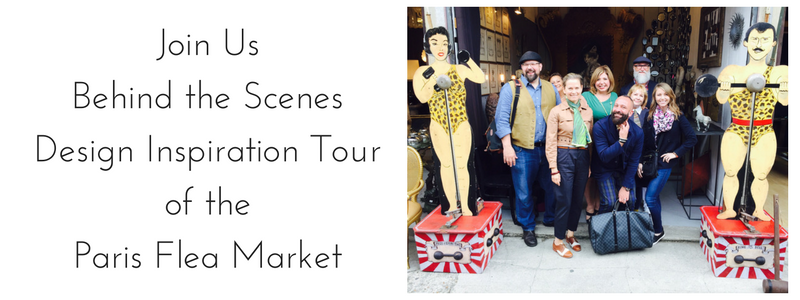 Design Inspiration Tour of the Paris Flea Market