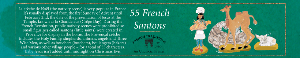 Lolo French Antiques French Christmas Traditions 55 French Santons