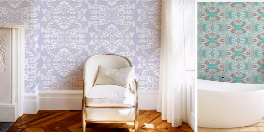 Julianne Taylor Shanghai Wallpaper Collection | Toma Clark Haines | The Antiques Diva