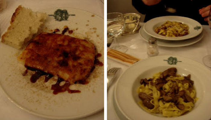 Dinner at Cammillo Trattoria - Weekend in Florence _ Toma Clark Haines _ The Antiques Diva