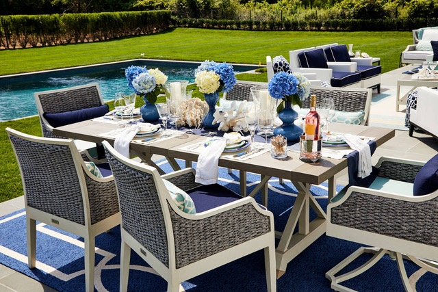 Hamptons Designer Showhouse | Outdoor Entertaining Diva Style
