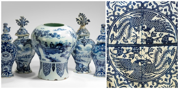 Trends at the Battersea Decorative Fair - Indigo blue