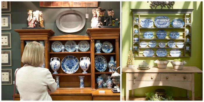 Trends at the Battersea Decorative Fair - indigo bleu