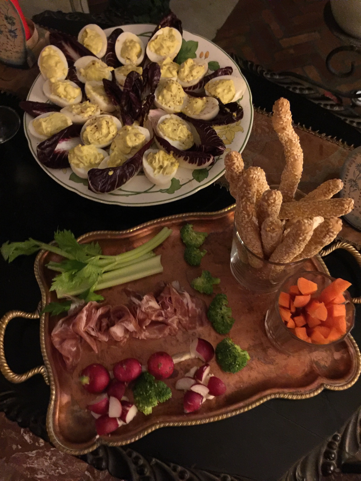An American Thanksgiving in Paris | Toma Clark Haines | The Antiques Diva
